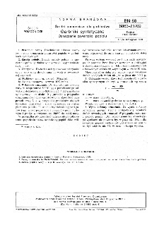 Środki pomocnicze dla garbarstwa - Garbniki syntetyczne - Oznaczanie zawartości popiołu BN-88/6063-21/09