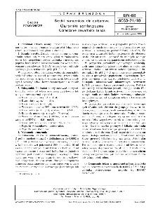 Środki pomocnicze dla garbarstwa - Garbniki syntetyczne - Oznaczanie zawartości żelaza BN-88/6063-21/10