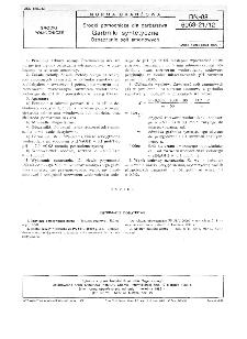 Środki pomocnicze dla garbarstwa - Garbniki syntetyczne - Oznaczanie soli amonowych BN-88/6063-21/12
