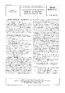 Środki pomocnicze dla garbarstwa - Garbniki syntetyczne - Oznaczanie zawartości glinu BN-88/6063-21/14