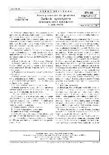 Środki pomocnicze dla garbarstwa - Garbniki syntetyczne - Oznaczanie fenoli destylujących z parą wodną BN-88/6063-21/15