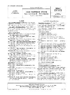 Jasne napełniacze aktywne typu krzemionek i krzemianów - Ogólne metody badań BN-69/6064-03