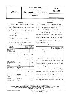 Krzemianowe inhibitory korozji - Pobieranie próbek i metody badań BN-77/6068-12