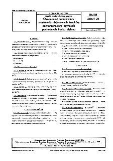 Środki powierzchniowo czynne - Oznaczanie temperatury zmętnienia niejonowych środków powierzchniowo czynnych pochodnych tlenku etylenu BN-81/6069-25