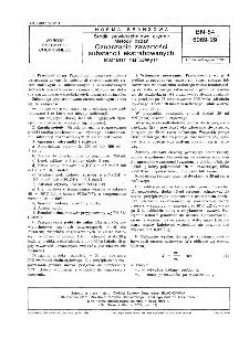 Środki powierzchniowo czynne - Metody badań - Oznaczanie zawartości substancji ekstrahowanych eterem naftowych BN-84/6069-29
