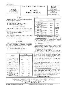 Odczynniki - Azotan wapniowy BN-89/6191-05