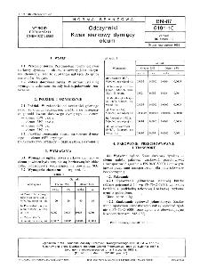 Odczynniki - Kwas siarkowy dymiący - oleum BN-87/6191-10