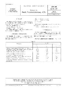 Odczynniki - Kwas fluorowodorowy 40% BN-86/6191-17