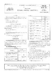 Odczynniki - Chlorek niklawy uwodniony BN-88/6191-20
