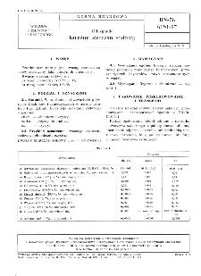 Odczynniki - Kwaśny siarczan sodowy BN-78/6191-27