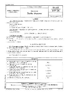 Odczynniki - Siarka strącona BN-65/6191-36