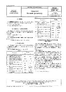 Odczynniki - Bromek potasowy BN-91/6191-40