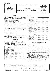 Odczynniki - Węglan sodowy krystaliczny BN-84/6191-50