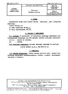 Odczynniki - Azotan barowy BN-75/6191-53