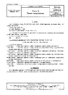 Odczynniki - Tlenek magnezowy BN-66/6191-63