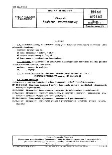 Odczynniki - Fosforan dwuwapniowy BN-66/6191-65