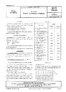 Odczynniki - Azotan bizmutawy zasadowy BN-79/6191-68