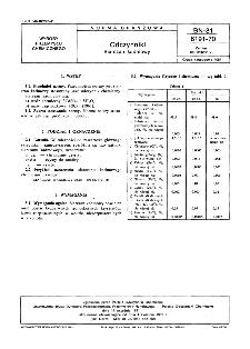 Odczynniki - Siarczan kadmowy BN-81/6191-70