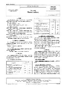 Odczynniki - Fluorek sodowy BN-68/6191-85