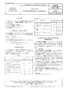 Odczynniki - Nadmanganian potasowy BN-90/6191-89