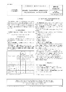 Zasady barwników zasadowych rozpuszczalne w tłuszczach BN-87/6044-05