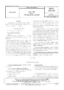 Emalie szkliste - Badania - Oznaczanie grubości BN-76/4027-08