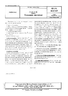 Emalie szkliste - Badania - Oznaczanie ziarnistości BN-76/4027-09