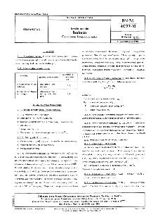 Emalie szkliste - Badania - Oznaczanie kwasoodporności BN-76/4027-10