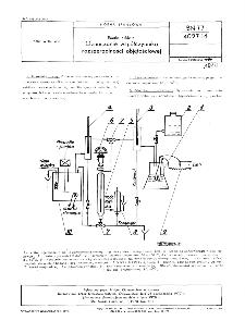 Emalie szkliste - Oznaczanie współczynnika rozszerzalności objętościowej BN-77/4027-14