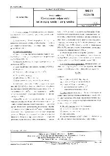 Emalie szkliste - Oznaczanie odporności na wrzącą wodę i parę wodną BN-77/4027-16
