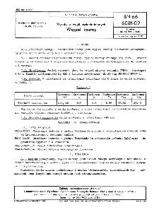 Wyroby z węgli uszlachetnionych - Węgiel kostny BN-66/6081-02