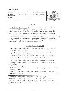 Wyroby z węgli uszlachetnionych - Kity BN-81/6083-01