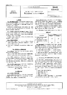Wyroby z węgli uszlachetnionych - Pierścienie uszczelniające BN-68/6084-03