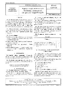 Wyroby z węgli uszlachetnionych - Elementy kontaktowe do pieców kryptolowych BN-69/6087-05