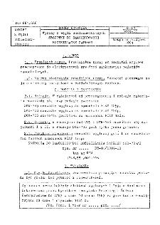 Wyroby z węgli uszlachetnionych - Szczotki do samochodowych rozdzielaczy zapłonu BN-83/6087-08
