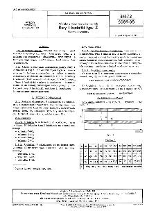Wyroby z węgli uszlachetnionych - Rury i kształtki typu Z - Kształty i wymiary BN-73/6089-08