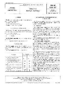 Odczynniki - Azotyn sodowy BN-86/6191-97