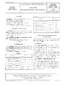 Odczynniki - Wodorofosforan dwusodowy BN-89/6191-108