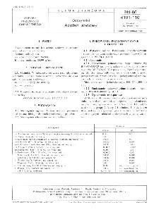 Odczynniki - Azotan sodowy BN-86/6191-110