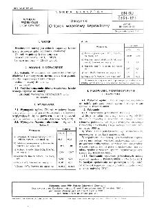 Odczynniki - Chlorek wapniowy krystaliczny BN-90/6191-121