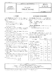 Odczynniki - Chlorek barowy BN-73/6191-122
