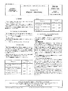 Odczynniki - Węglan amonowy BN-84/6191-123