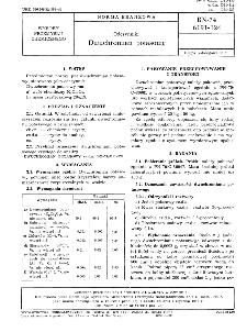 Odczynniki - Dwuchromian potasowy BN-74/6191-124