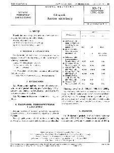Odczynniki - Azotan ołowiawy BN-74/6191-130