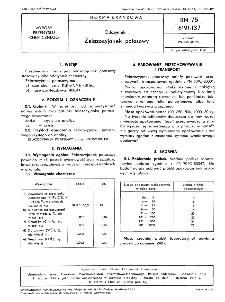 Odczynniki - Żelazocyjanek potasowy BN-75/6191-137