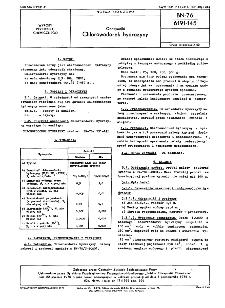 Odczynniki - Chlorowodorek hydrazyny BN-76/6191-145