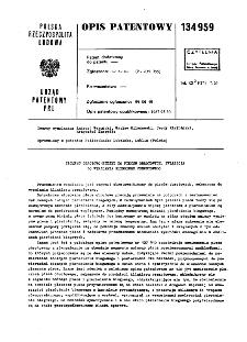 Segment obrotowo-bieżny do pieców obrotowych, zwłaszcza do wypalania klinkieru cementowego : opis patentowy nr 134959