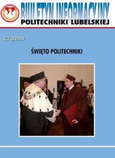 Biuletyn Informacyjny Politechniki Lubelskiej nr 22 - 2(22)2009
