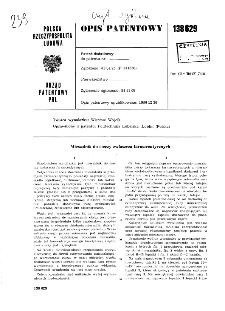 Mieszalnik do cieczy zwłaszcza farmaceutycznych : opis patentowy nr 138629