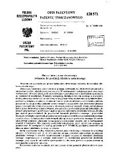 Płaszcz bębna pieca obrotowego, zwłaszcza do produkcji klinkieru cementowego : opis patentowy patentu tymczasowego nr 128571